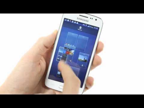 Giao diện người dùng trên Galaxy Core LTE