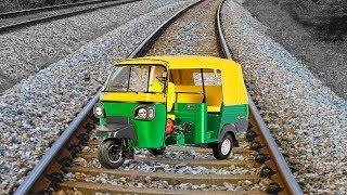Train Vs Auto Rickshaw Part 2 EXPERIMENT