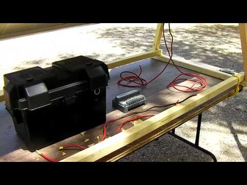 DIY Portable Solar Power Generator - Off-Grid Free Energy Generation