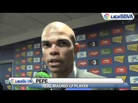 Real Madrid: Pepe Keen on Staying - English (2/13/11)
