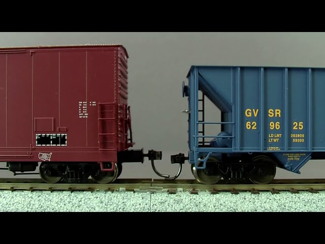HO scale model trains coupler height 8-1-12