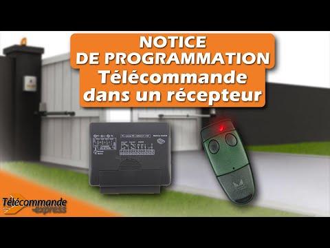 Programmer sa t l commande dans un r cepteur youtube - Comment programmer une telecommande de porte de garage ...