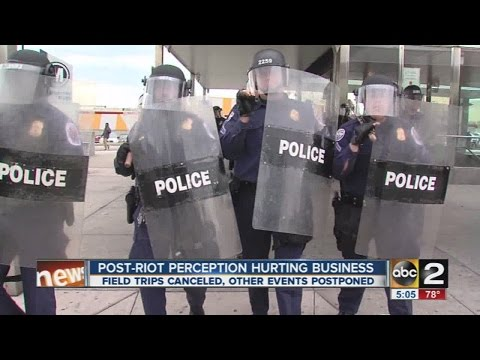 Baltimore's post-riot perception hurting businesses, institutions