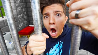 I spent 24 HOURS in Minecraft Prison! (Extreme Minecraft Prison Escape)