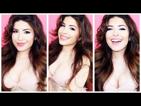 Perfect Prom Makeup + Hair Tutorial video