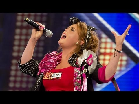 Jade Collins' audition - Beyonce's Sweet Dreams - The X Factor UK 2012
