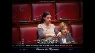"""Federica Daga (M5S): """"Salva Roma scritto da chi ha distrutto la città"""""""