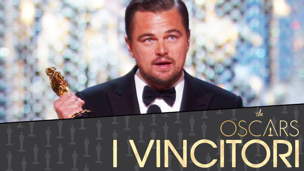 Oscar 2016 I Vincitori - Leonardo DiCaprio, Ennio Morricone [HD]
