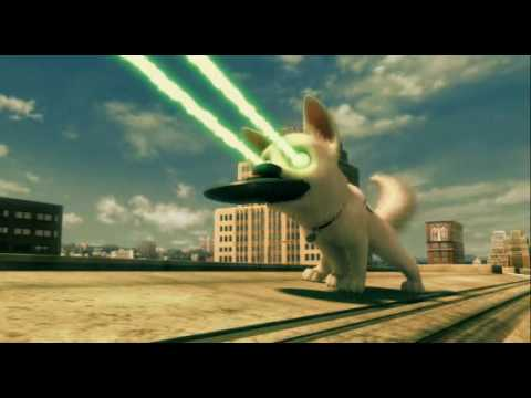 Disney: Bolt - Movie Clip - Bolt Tv Show Chase Scene video