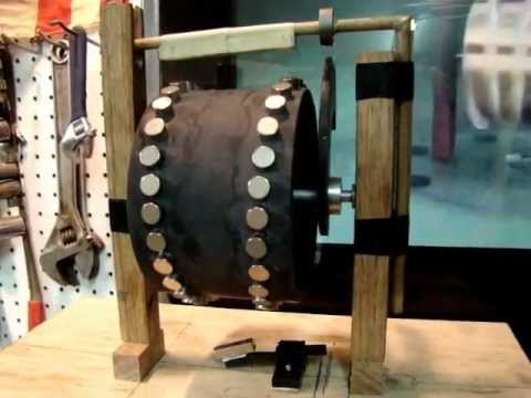 Evolution of Perpetual Motion. WORKING Free Energy Generator Part 1 of 3
