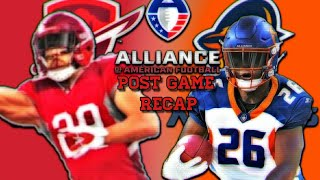 Alliance Of American Football San Antonio Commanders vs Orlando Apollos Post Game Recap