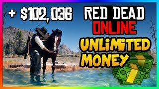 *NEW* Red Dead Online UNLIMITED MONEY GLITCH! - Best SOLO Fast MONEY Method/Exploit In RDR2 Online!