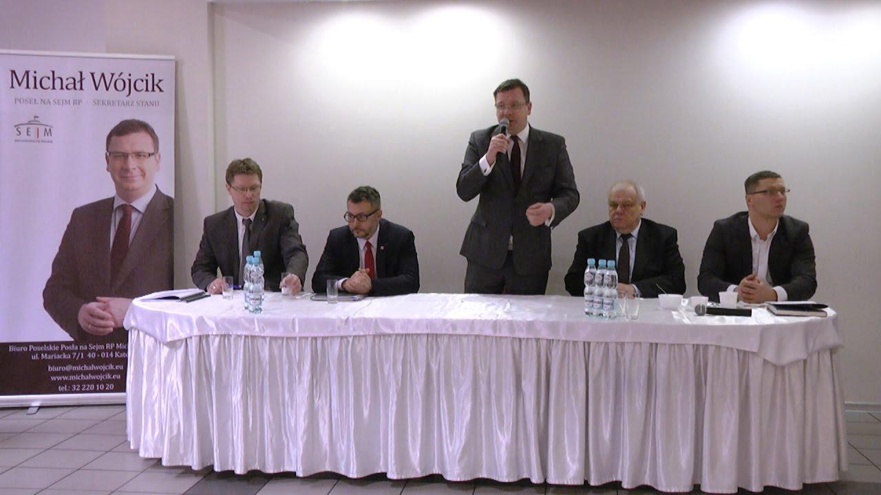Spotkanie z WiceMinistrem Michałem Wójcikiem