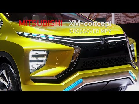 Video Mitsubishi XM Concept Crossover, GIIAS 2016