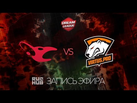 Mousesports vs Virtus.Pro, DreamLeague Season 7, game 1 [Adekvat, 4ce]
