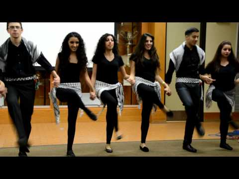 LA Dabke Troupe Performing for SJP (UCLA) Music Videos