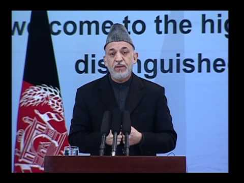 President Hamid Karzai's Speech at a gathering marking International Women's Day in Kabul