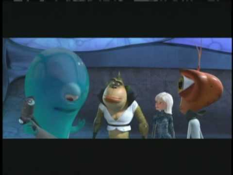Monsters vs. Aliens Movie Review