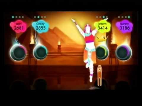 Bangles   Walk Like An Egyptian Just Dance 2 Wii video