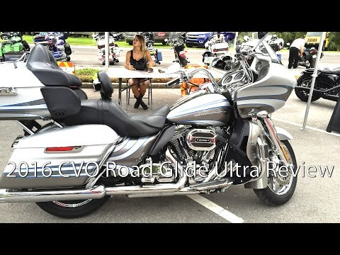 2016 Harley Davidson CVO Road Glide Ultra Motorcycle Review