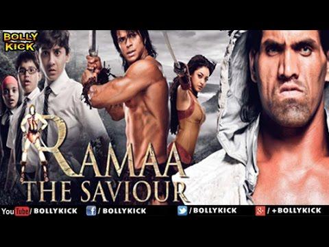 Ramaa The Saviour - Khali   Hindi full Movies   Tanushree Dutta   Great Khali   Sahil Khan
