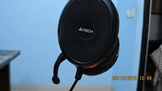 reviewing the HS-30 headphones from A4 tech