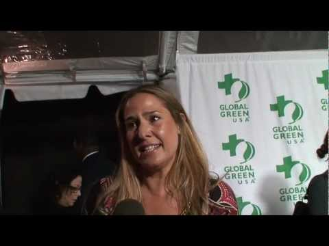 Sea Shepherd's Deborah Bassett Interviewed By Ken Spector - Global Green USA's Pre-Oscar Party