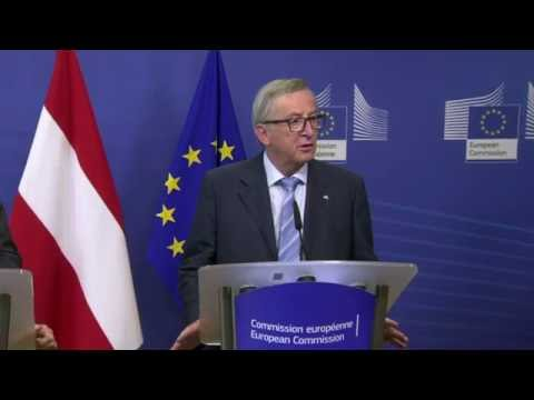 #StrongerIn: Juncker says 'out is out'