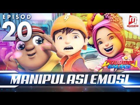 BoBoiBoy Galaxy EP20   Manipulasi Emosi - (ENG Subtitle)