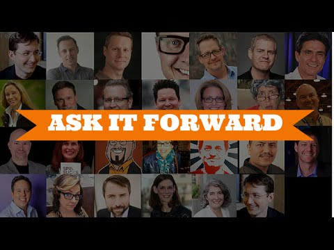 Ask It Forward: 26 Questions for 26 Marketers