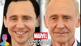 How would they look - Old & Young ☆ Marvel Characters ☆ FACE APP