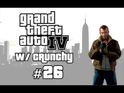 GTA IV : Story Mode WalkThrough Pt. 26 - Train Vs. Niko