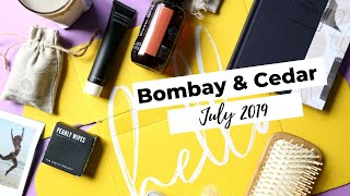 Bombay & Cedar Review July 2019: Lifestyle Subscription Box