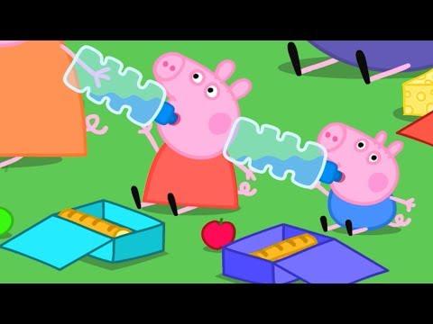 Peppa Pig Świnka Peppa Po Polsku | Zabawny Bieg | Bajki Po Polsku