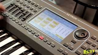 Musikmesse 2015 - Ketron SD7: Style Modeling, MIDI Audio/Recorder e Multitrack Audio Player