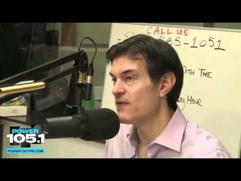 Dr. Oz Talks Colon Cleansing and Detox on Power 105.1 FM -- No Punches Pulled!