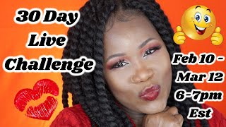 30 Day Live Challenge by Tasty Mukbang Eats| 8 hour live and sleep?