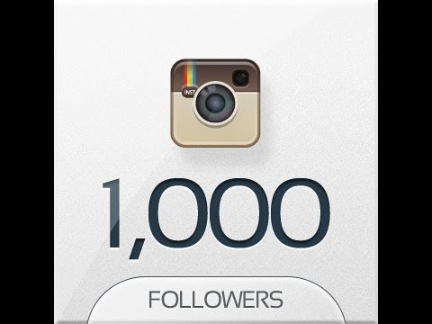how to get 1000s of followers on instagram