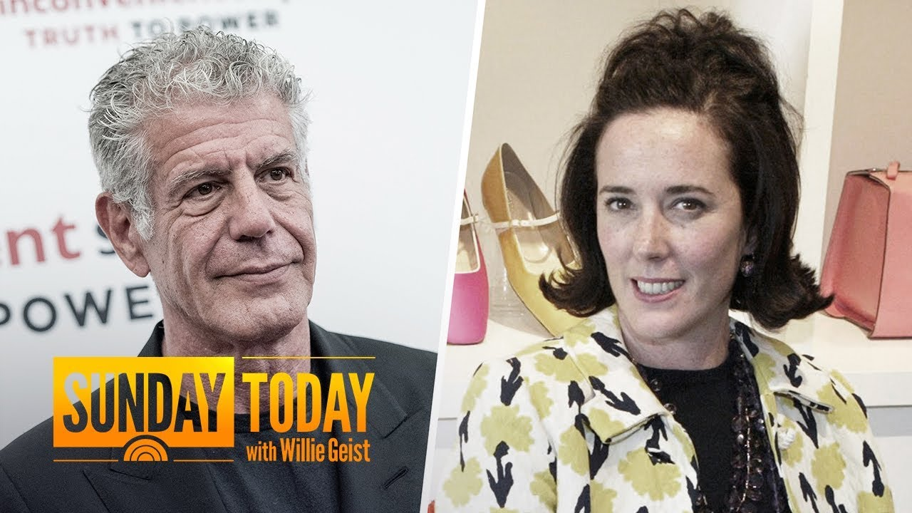 Anthony Bourdain And Kate Spade's Deaths Spotlight Alarming Public health Trend | Sunday TODAY