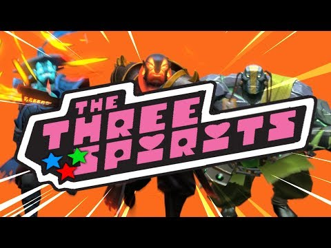 Dota 2 [SFM] The Three Sprits Trailer - Powerpuff Girls Intro Parody