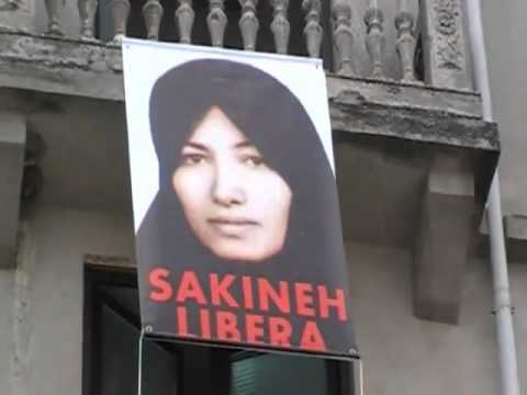 Italy Supports Sakineh Mohammadi Ashtiani