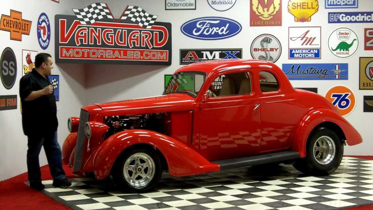 1936 Dodge 5 Window Business Coupe Classic Muscle Car For