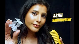 ASMR   RELAXING HAIR CLIPPING PERSONAL ATTENTION
