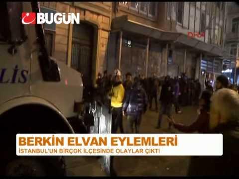 İSTANBUL'DA BERKİN ELVAN EYLEMLERİ