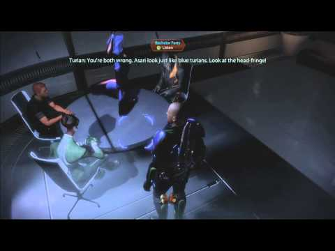 Mass Effect 2 Easter Egg: Where do Asari Strippers come from?