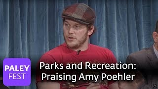 Parks and Recreation - Chris Pratt Praises Amy Poehler