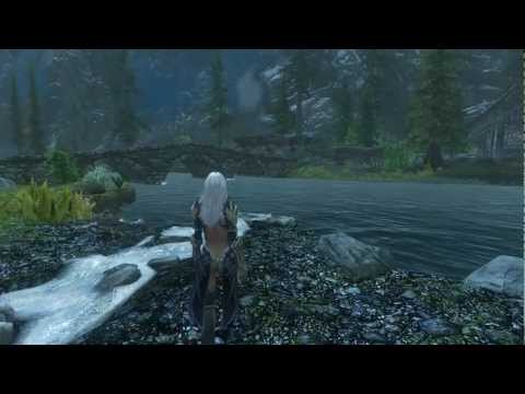 Oriental Race & Angel Wings : Skyrim Mod Showcase : Meoni