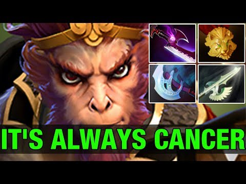 MONKEY CANCER - Cancel^^ 9.3K MMR Plays Monkey king - Dota 2