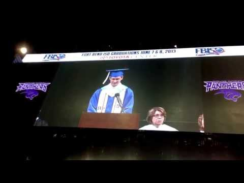 Ridge Point High School Valedictorian Speech