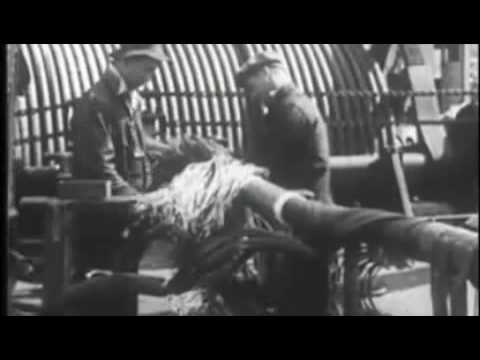 Very rare video - Underwater cable laying - Must watch